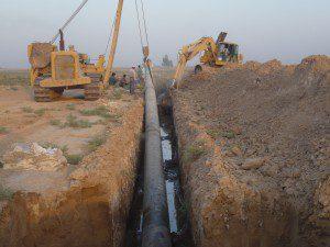 Bahabad water supply facilities to Chadormalu