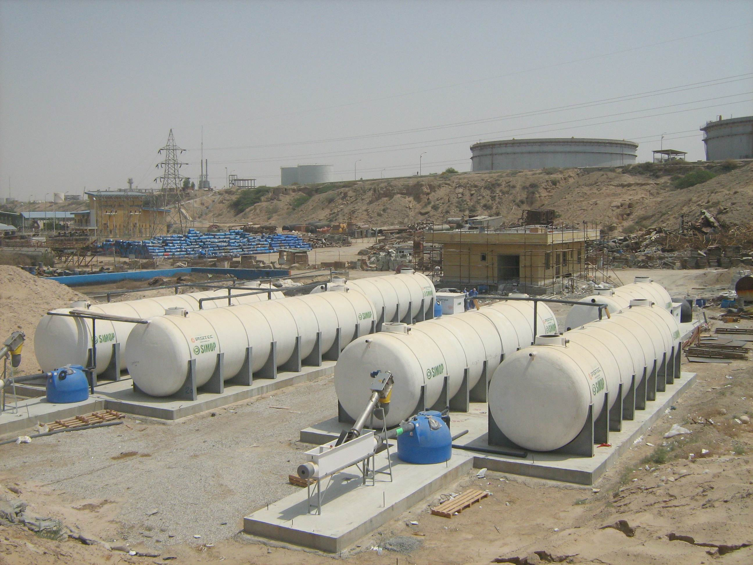 Refinement Sanitary Wastewater
