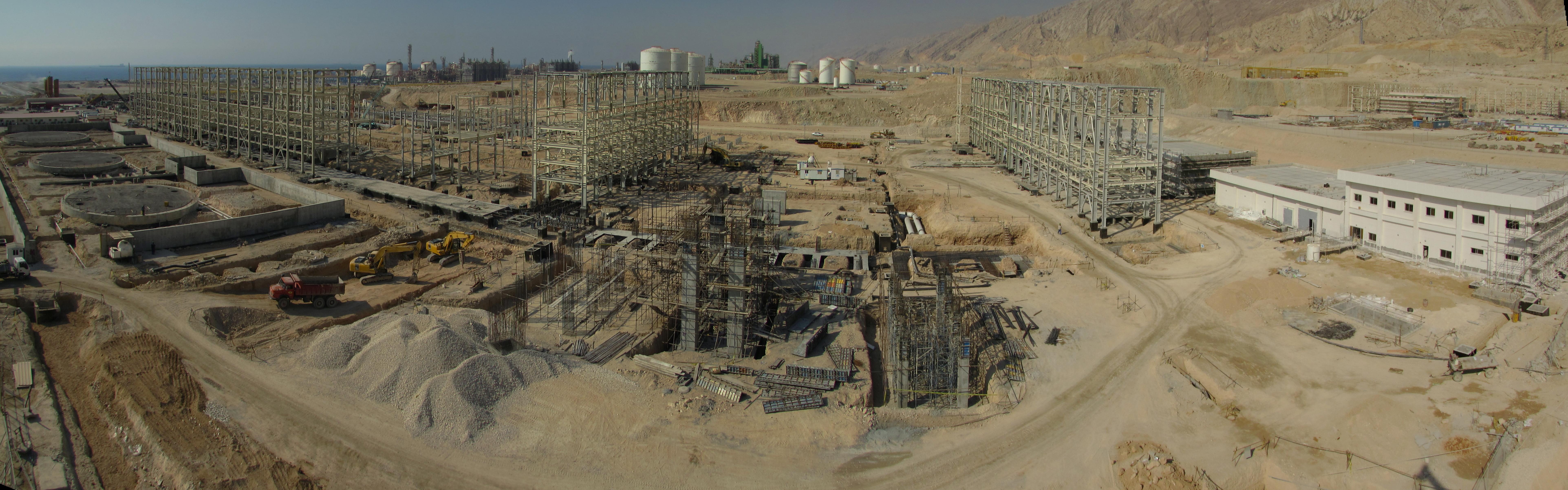 Project of Boushehr Petrochemical