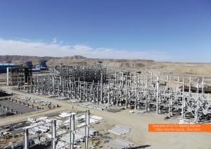 احداث كارخانه گندله سازی گهر زمين