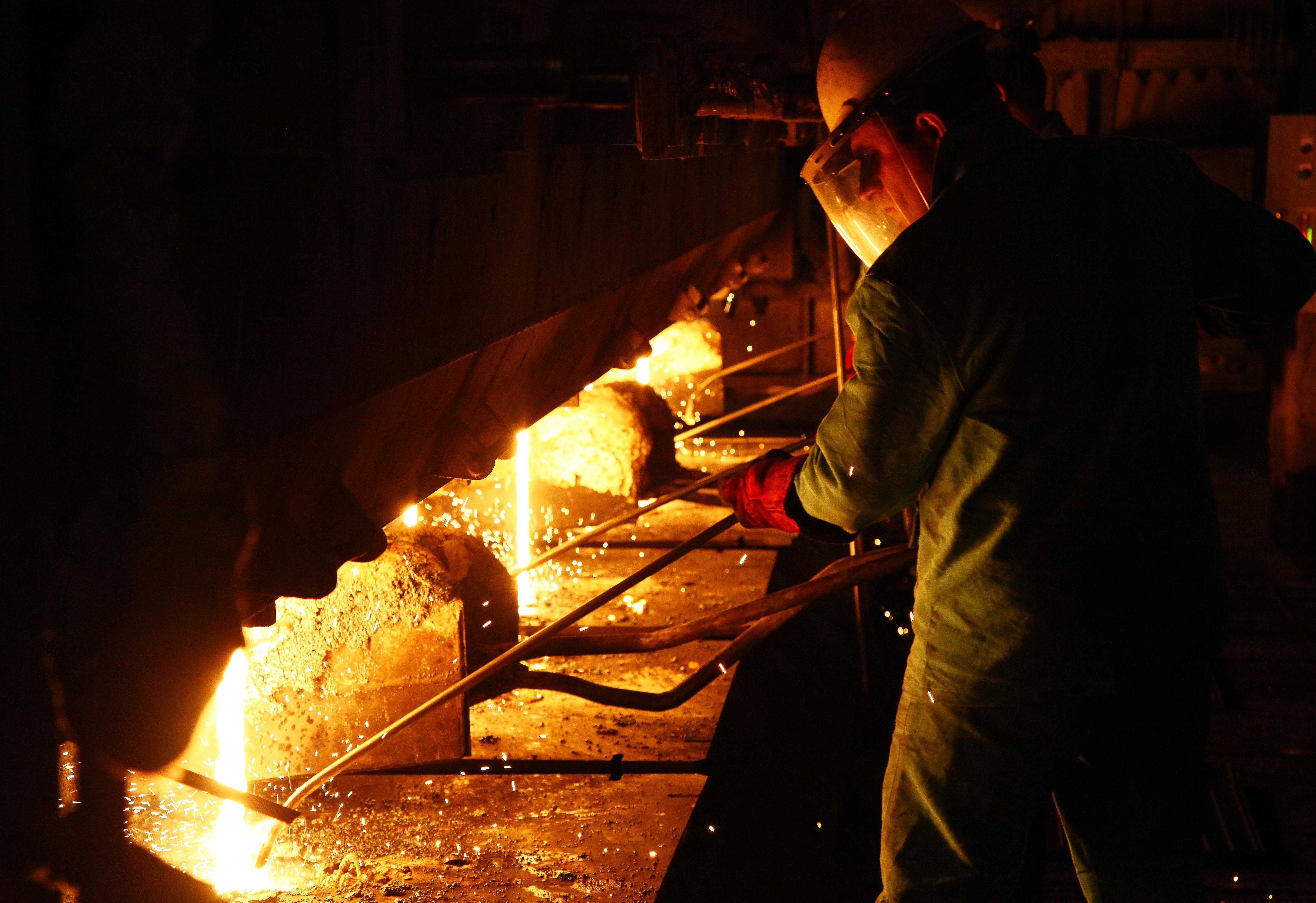 بهره برداری واحد ذوب کارخانه فولاد ارفع