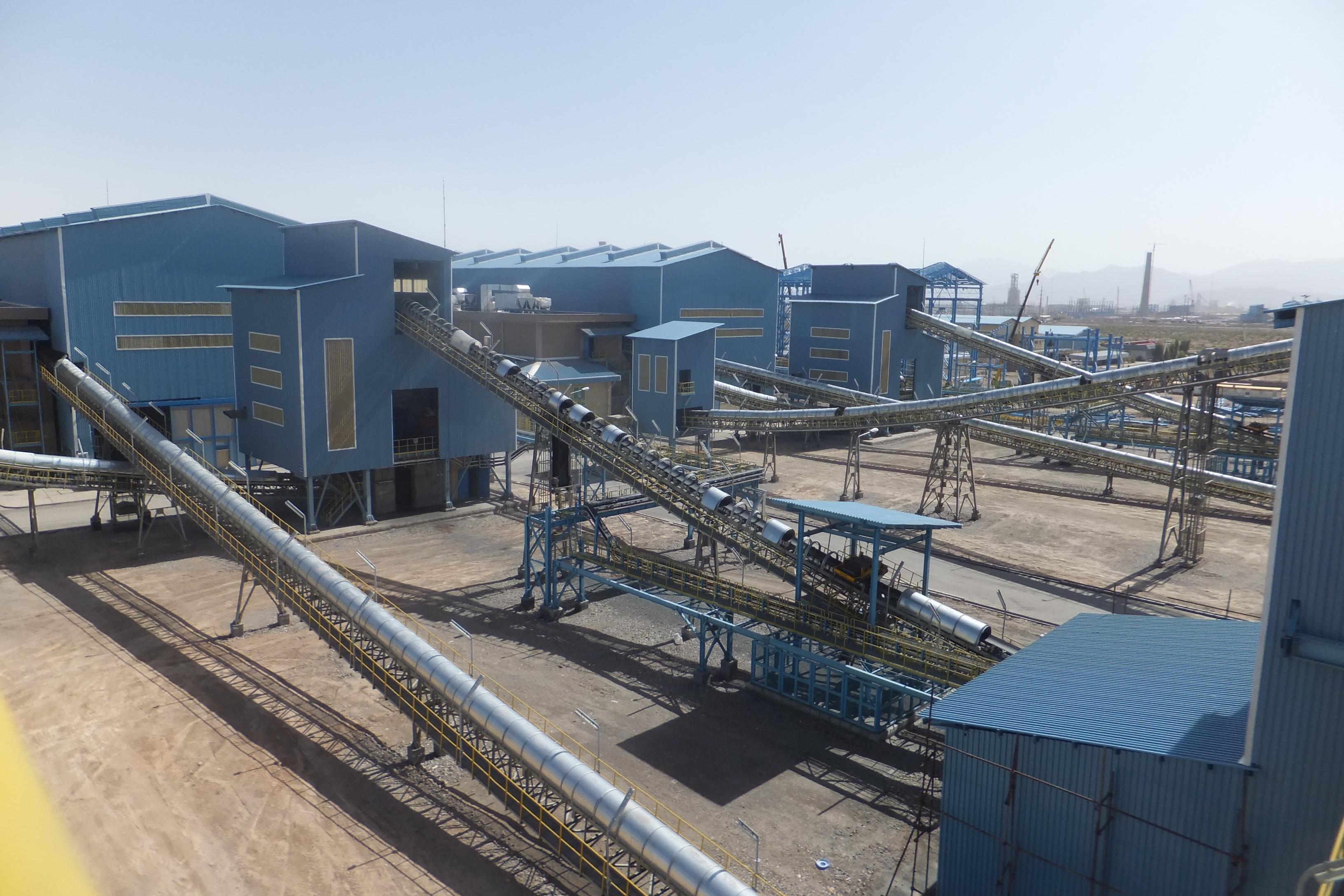 احداث کارخانه کنسانتره سنگ آهن سیرجان