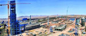 اجرای واحد مگامدول احياء مستقيم پروژه فولاد چادرملو