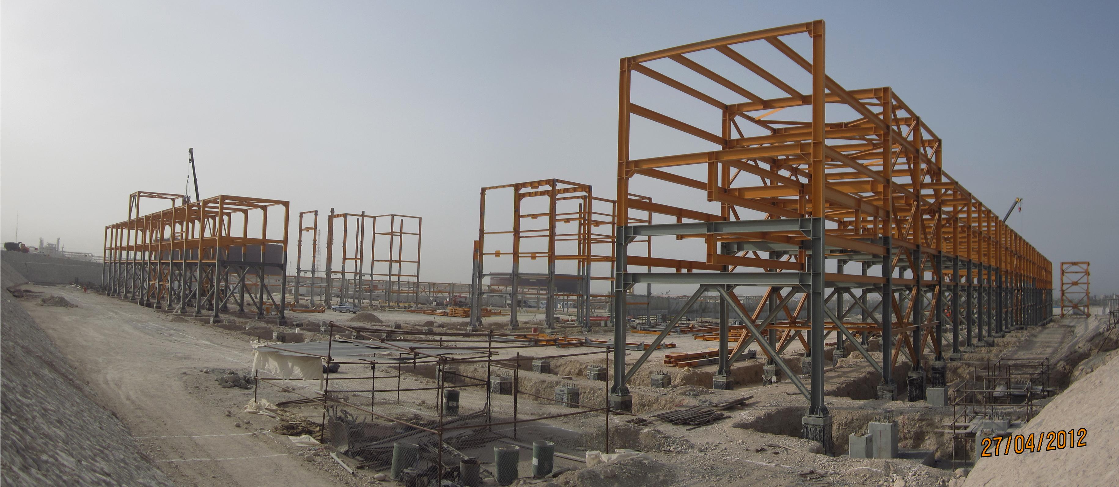 عمليات تامين پروژه های 20 و 21 توسعه ميدان گازی پارس جنوبی